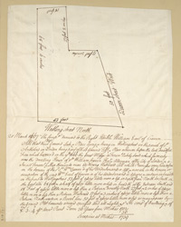 [Plan of a Property on Watling Street] 210-C